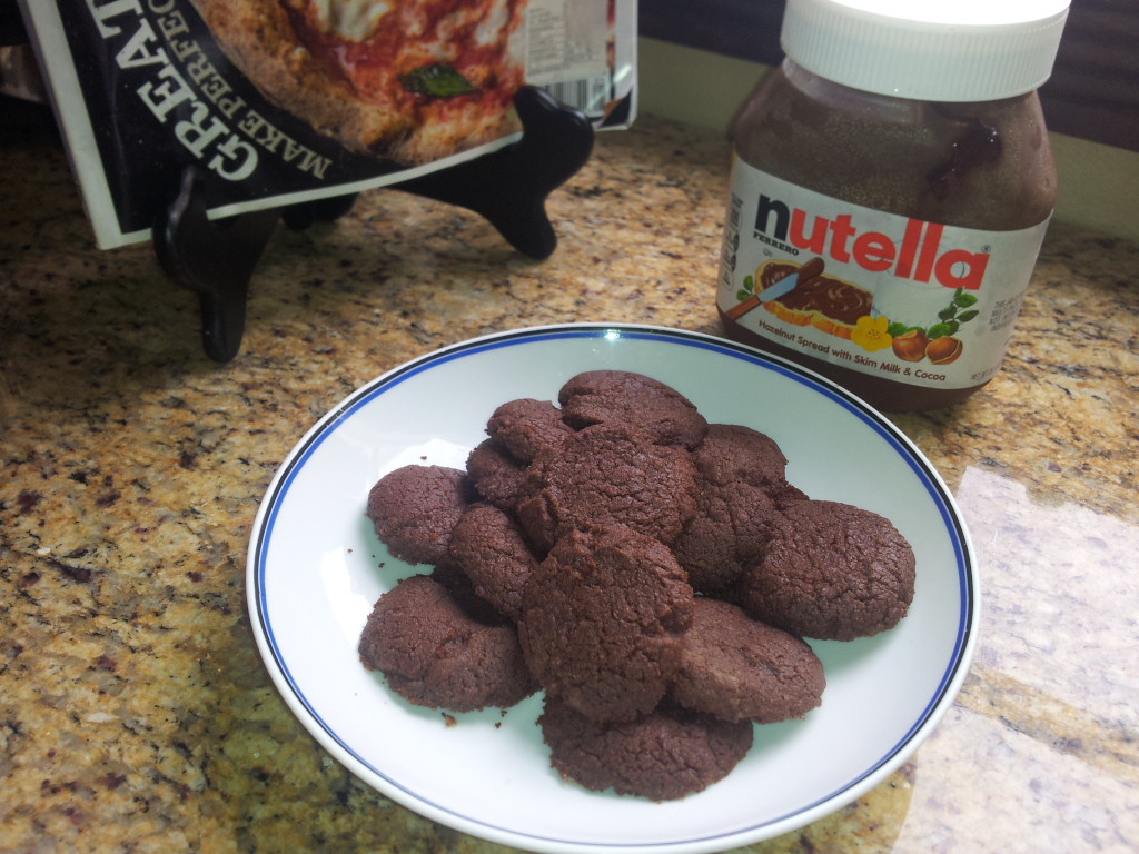 Galletitas de Nutella